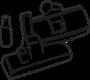 Насадки, всасывающие трубки и держатели к водопылесосам