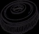 Щетка кремниево-карбидная для R44-180 - фото 11076