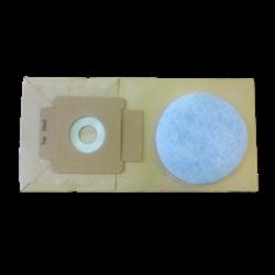 Мешки бумажные для ранц. пылесоса Cleanfix RS 05 - фото 16236