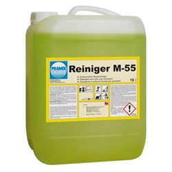 M-55 - сильный очиститель. Моющее средство для поломоечных машин и ручной уборки. - фото 6780