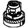 GHIBLI Турбина для пылесоса AS400