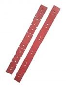 Комплект резиновых лезвий для поломоечной машины Метлана М50