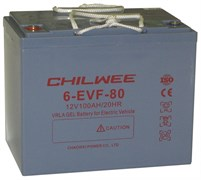 Комплект аккумуляторов для поломоечных машин - Chilwee 6-EVF-80