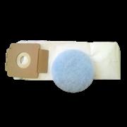 Мешки флисовые для ранц. пылесоса Cleanfix RS 05