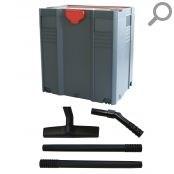 Ящик для инструмента («Систейнер») Starbox II + комплект трубок и насадка