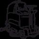 Поломоечные машины с сиденьем оператора