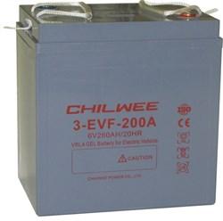 Chilwee 3-EVF-180A - Тяговый аккумулятор, GEL - фото 16436