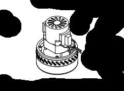 Турбина всасывающая Comac 430959