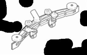 Сквидж в сборе параболический RA 431-501 (432.550)