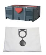 Ящик для инструмента («Систейнер») Starbox II + упаковка мешков FBV 25/35