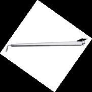 Потолочная поворотная консоль (балка) с подающей трубой (нерж.), 1,75м