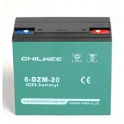 Chilwee 6-DZM-20 - тяговый гелевый аккумулятор