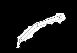 KIT018/1(New) - Передние резиновое лезвие для AFC-18B/45В/50В