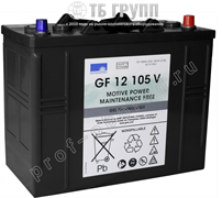 Sonnenschein GF 12 105V -тяговый гелевый аккумулятор