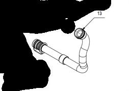 434151 - Шланг для слива грязной воды Comac Innova 85b