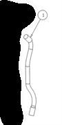 00512 TBBP - Шланг всасывающий Gansow(Portotecnica)
