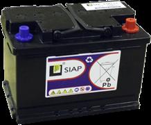 SIAP 6 GEL L3 - Тяговая аккумуляторная батарея