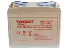 Everest TNE 12-170 - тяговый гелевый аккумулятор (12В, 144 А/ч)