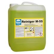 M-55 - сильный очиститель. Моющее средство для поломоечных машин и ручной уборки.